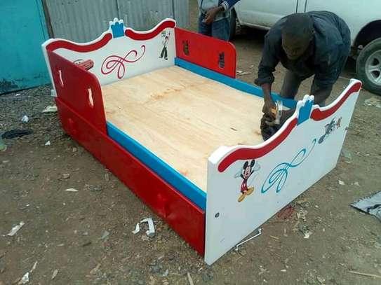 Fancy kids single beds image 2