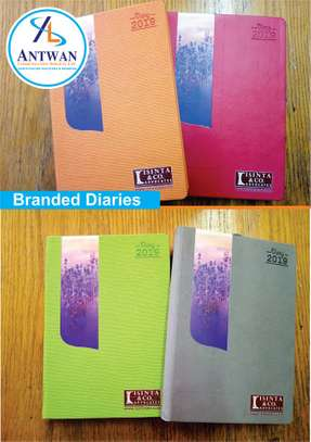 Branded Diaries and Note books