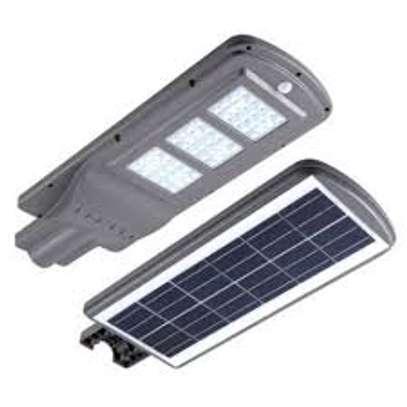 A 100 Watts Solar Powered Street Light. image 1