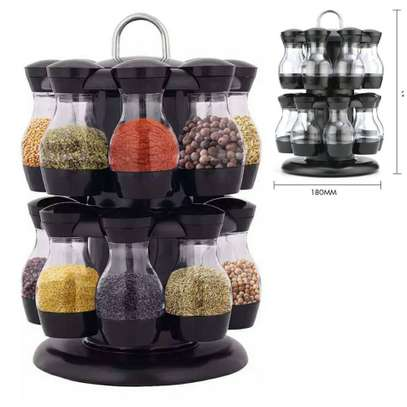 Spice Jar With Rack