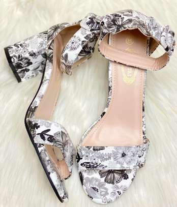 Floral Chunky heels image 12