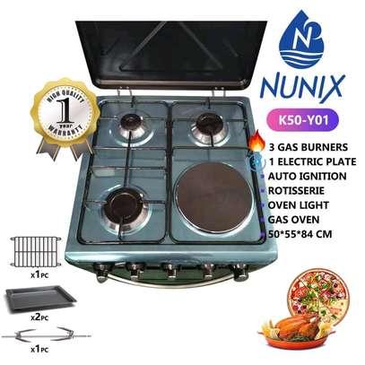 4 gass burner /NuNix gass cooker/auto ignition gass cooker image 1