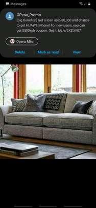 Three  seater classy sofa image 1