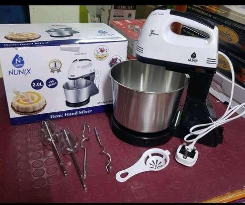 Bowl Mixer and flour finer. image 1