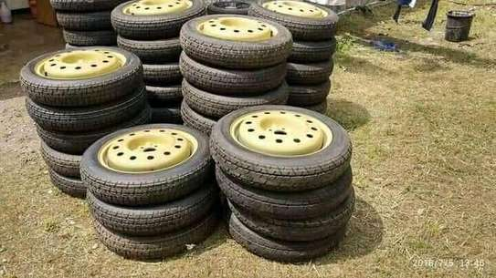 Donut /spare tyres with rims