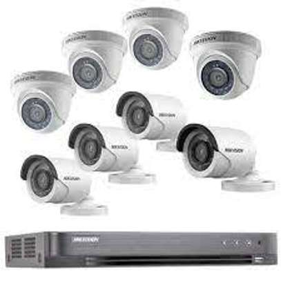 10 HD CCTV Camera Installation Package (Night Vision Enabled+ 2TB HDD + 250m Cable) image 1
