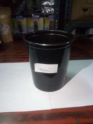 Reusable/Recyclable  Plastic Plant Seedling Flower Pots - 10 Pcs image 6