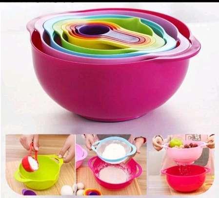 10pcs mixing (baking) bowls image 1