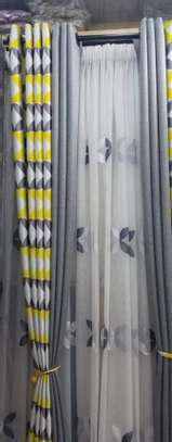 ADORABLE DOUBLE-SIDED CURTAINS AND SHEERS image 6
