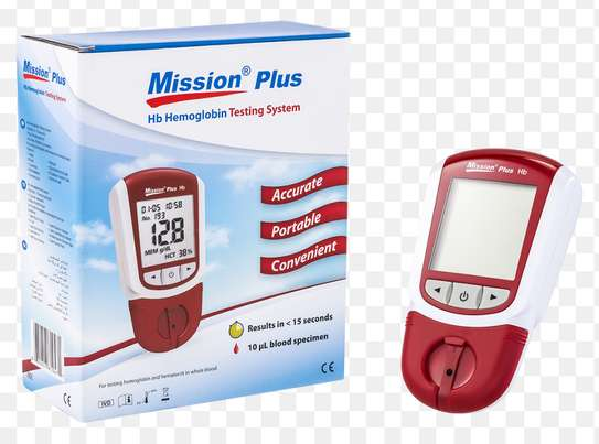 Mission Plus Hb Hemoglobin Machine