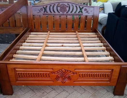 Bed 5 x 6 Mahogany beds . Pay on Delivery!!! Same day Delivery!!! image 2