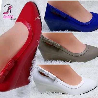 Quality wedge official shoes image 1