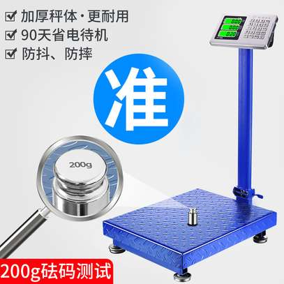 Electronic Platform Scale 300kg Weighing Scale image 1