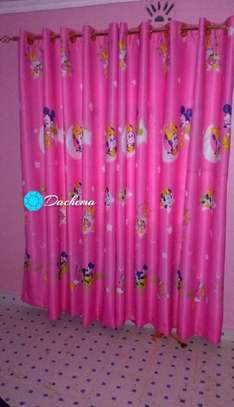 mickey mouse cartoon themed curtains image 1