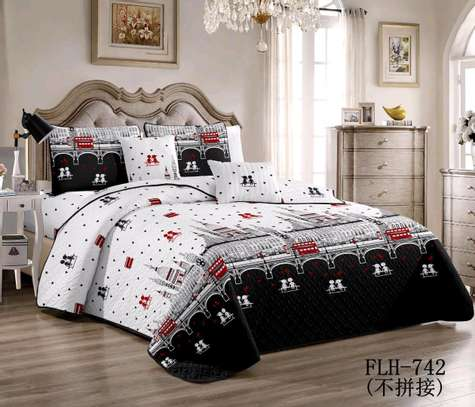 6 by 6 Cotton Bedcovers...4 pieces image 1