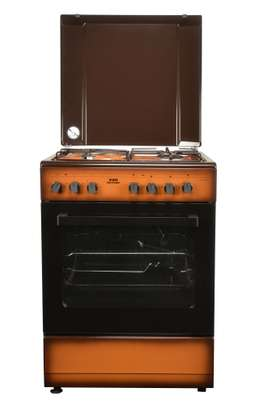 Von Hotpoint HPC7312NED 3 Gas + 1 Electric Cooker - TDF Dark