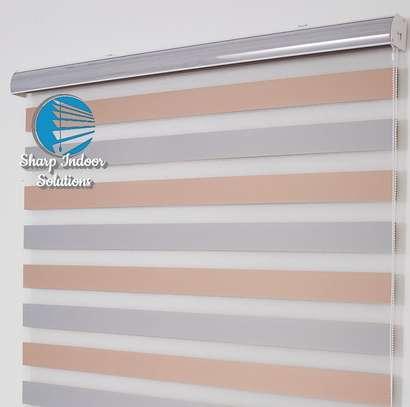 zebra polyester blinds image 4