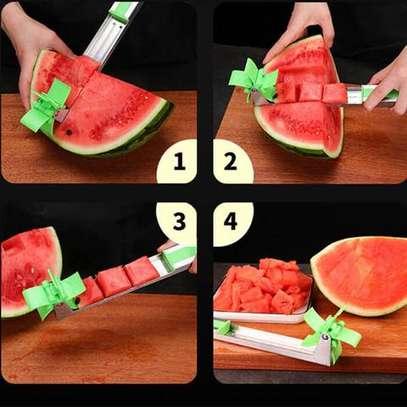 Windmill melon slicer. image 1