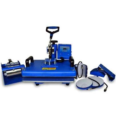 Durable 6-In-1 Heat Press Machine. image 1