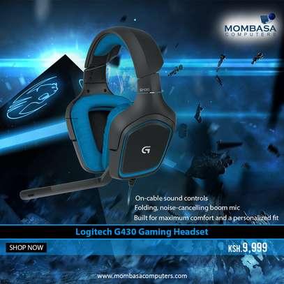 Logitech G430 Gaming Headset image 1