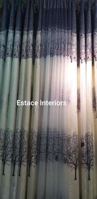 Matched curtains and sheers image 8