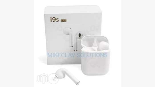 I9 TWS Twin Wireless Bluetooth Earbud image 1