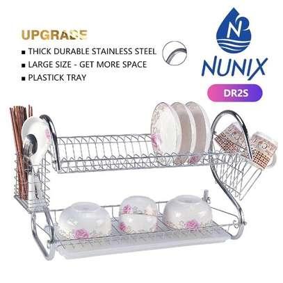Nunix 2-Layer Dish Drainer image 1
