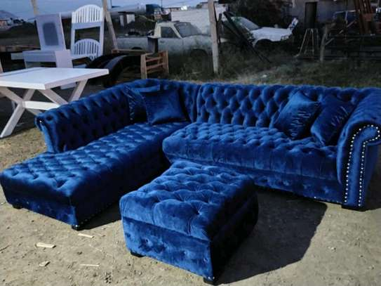 sofas/chesterfield L shaped six seater sofa/modern sofas/tufted L shaped sofas image 1