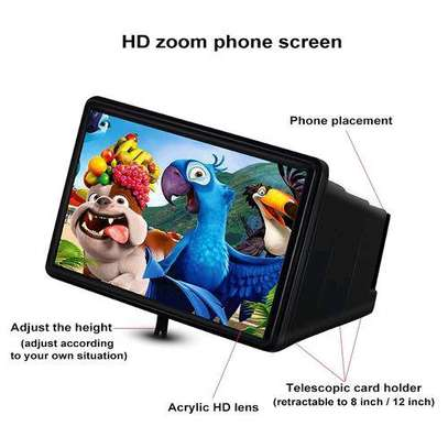12 inches phone screen magnifier image 1