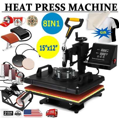 COMBO Sublimation Heat Press Machine image 2