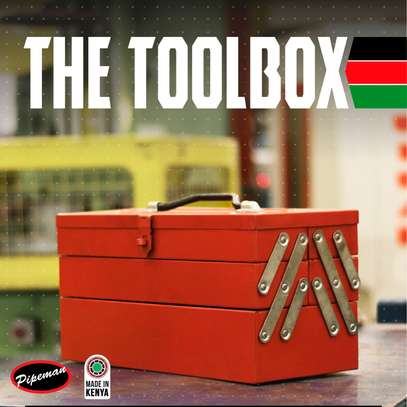 Pipeman, 5 Tray Toolbox image 2
