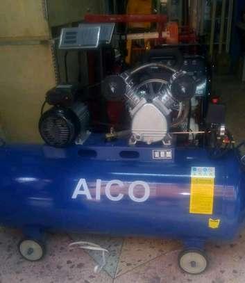 Electric 100litres air compressor image 1