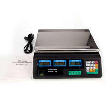 Scale Price Computing Electronic Scale 30KG image 1