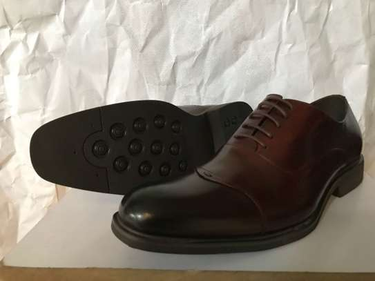 Men's Official Italian Leather Shoes with rubber sole image 3