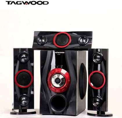 TAGWOOD LS-631A multimedia speaker system 3.1CH image 1