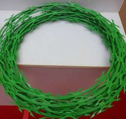 Green razor wire supplier and installer in kenya image 1