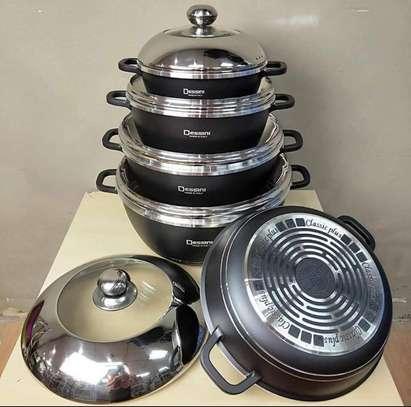 Dessini 10 Pcs Non-Stick Cooking/Serving Pots image 2