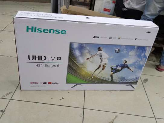 Hisense 4K UHD 43 Inch Smart TV Series 6 with YouTube Netflix WIFI New