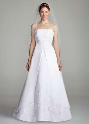 front split wedding dress image 2