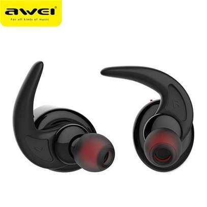 AWEI T1 TWS 4.2 True Wireless Bluetooth Earbuds Sport Headphones image 4
