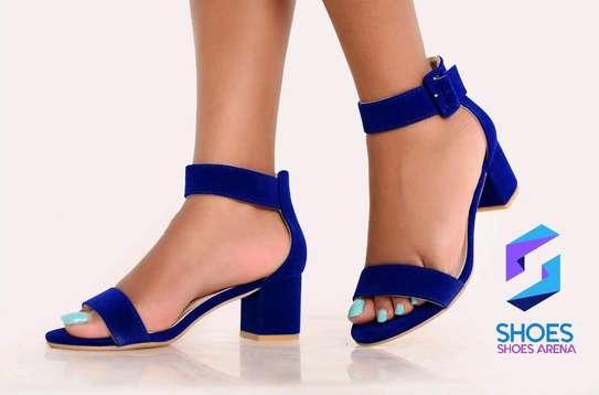 Quality Chunky Heels image 8