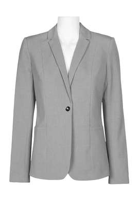 One button Light Grey Jacket