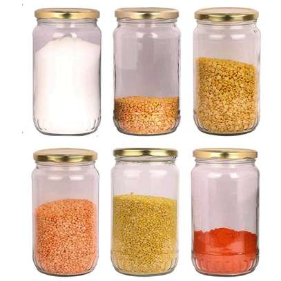 Multipurpose Storage Glass Jars, 28g/ml to 2kg/ml image 1
