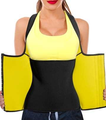 Women Neoprene Waist Trainer Vest Corset Sauna Body Shaper Weight Loss image 1