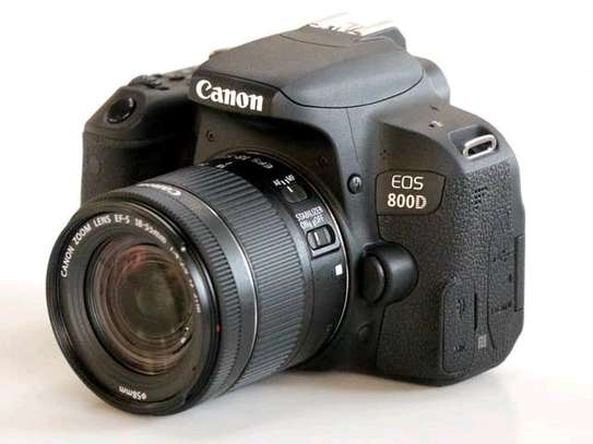 Canon 800D 18-55 mm lens brand new and sealed in a shop. image 1