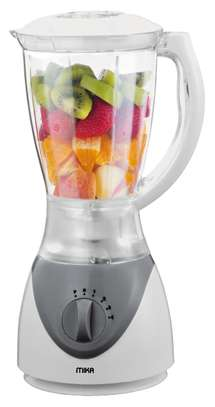 Mika Blender, 1.5L, 350W, White & Grey image 1