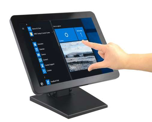 """POS 15"""" Capacitive LED Backlit Multi-Touch Monitor image 1"""