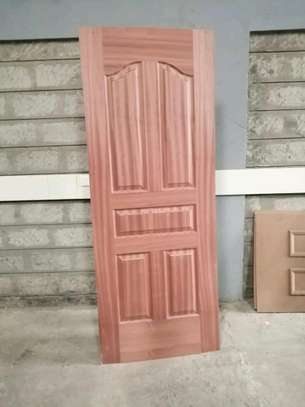 Mahogany interior flush doors available image 2