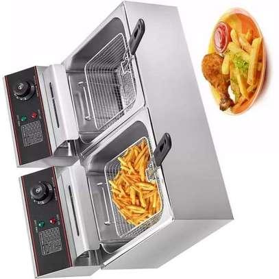 Double Deep Fryer image 1