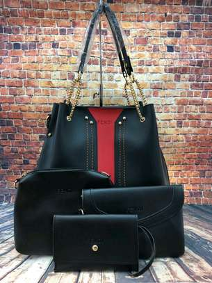 4in1 Leather Handbag
